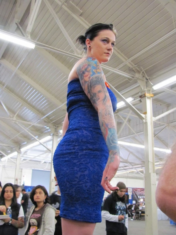 92 Выставка татуировок в Сан Франциско