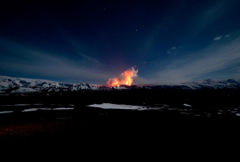 931 <br />Извержение вулкана в Исландии (Часть 1)