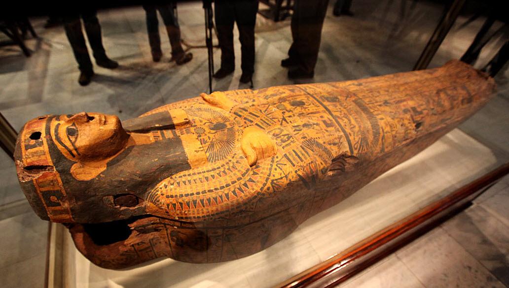саркофаг в египте фото нас