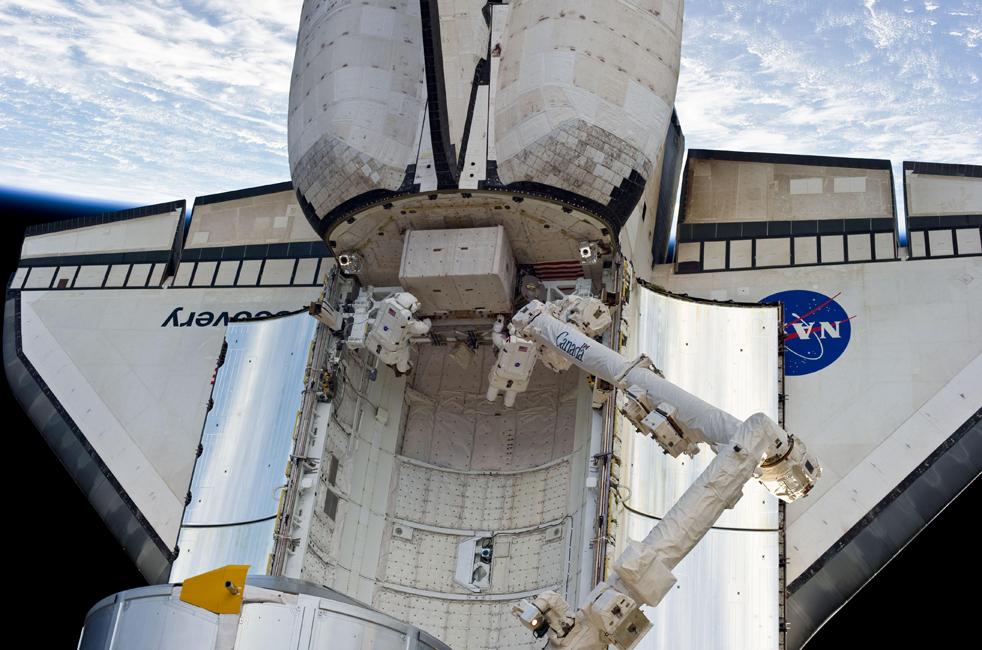 shuttle1 15 дневная миссия шаттла Discovery