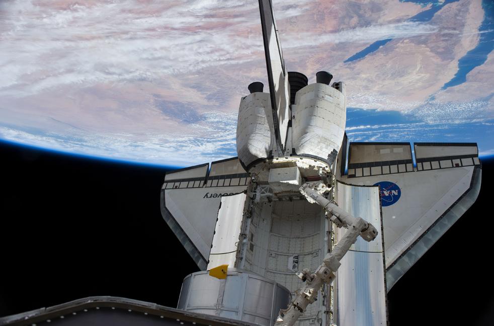 shuttle4 15 дневная миссия шаттла Discovery