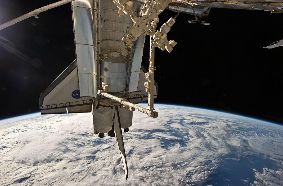 shuttle5 15 дневная миссия шаттла Discovery