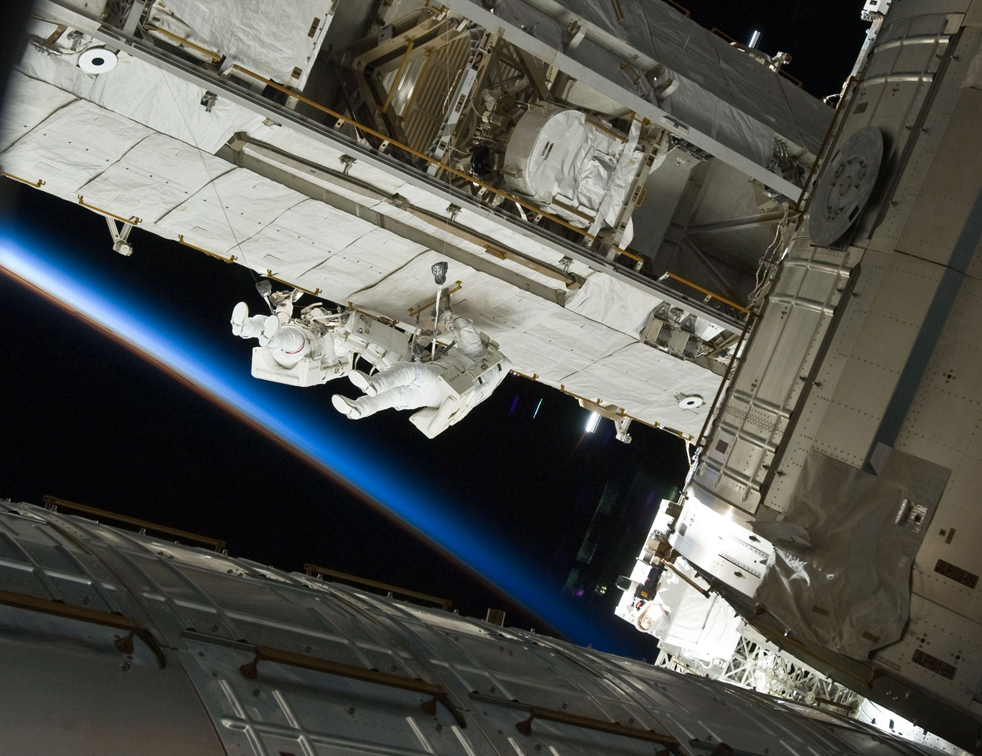 shuttle7 15 дневная миссия шаттла Discovery