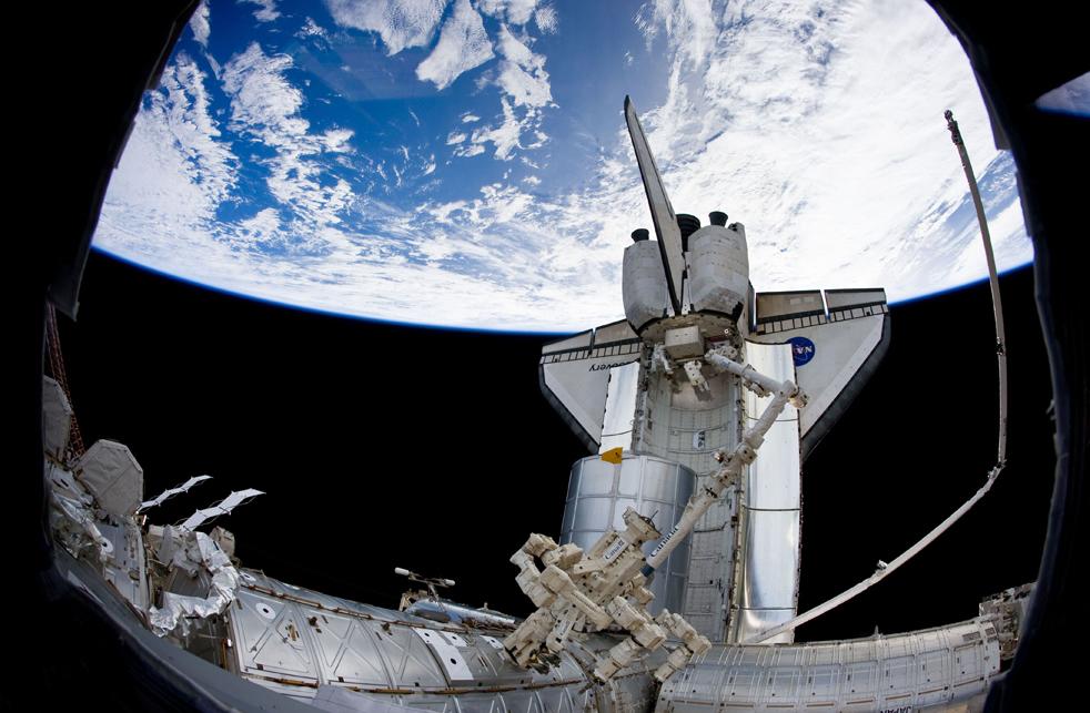 shuttleD 15 дневная миссия шаттла Discovery