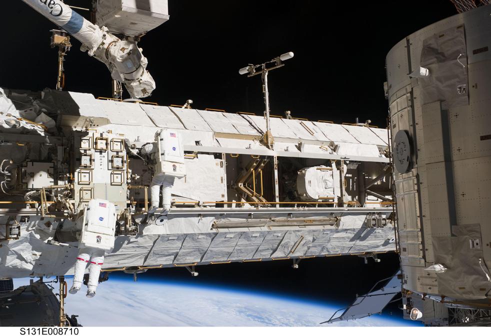 shuttleG 15 дневная миссия шаттла Discovery