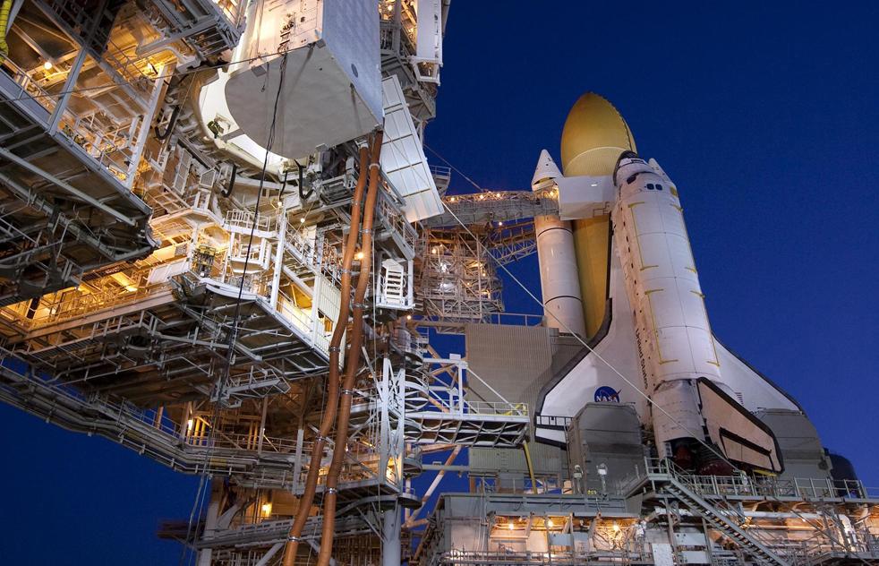 shuttleL 15 дневная миссия шаттла Discovery