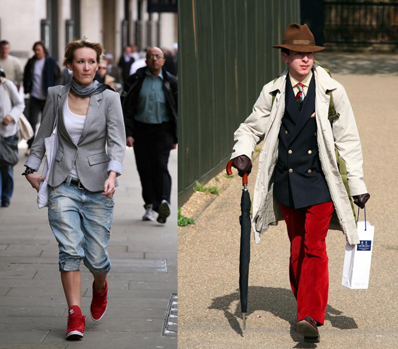 Одежда Лондона