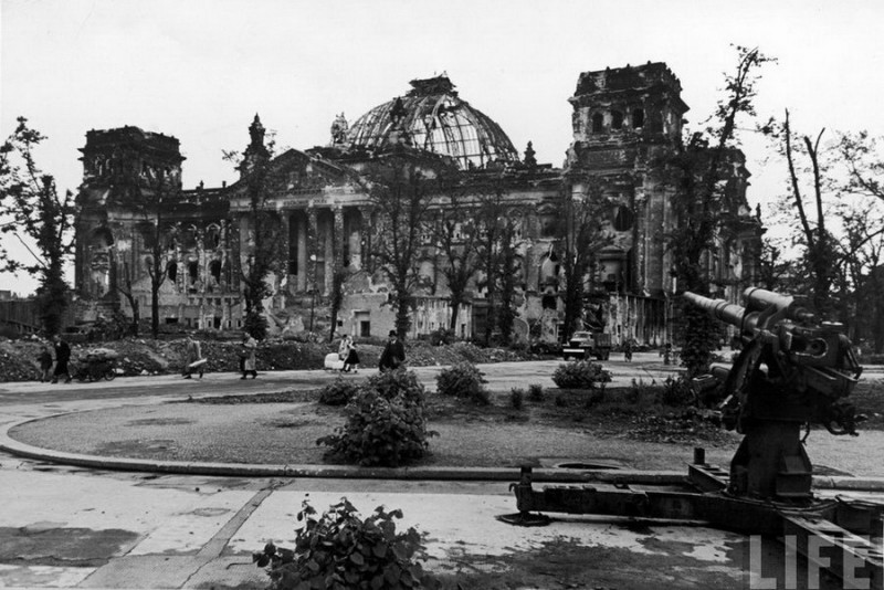 Вспоминая историю: Берлин в концевойны