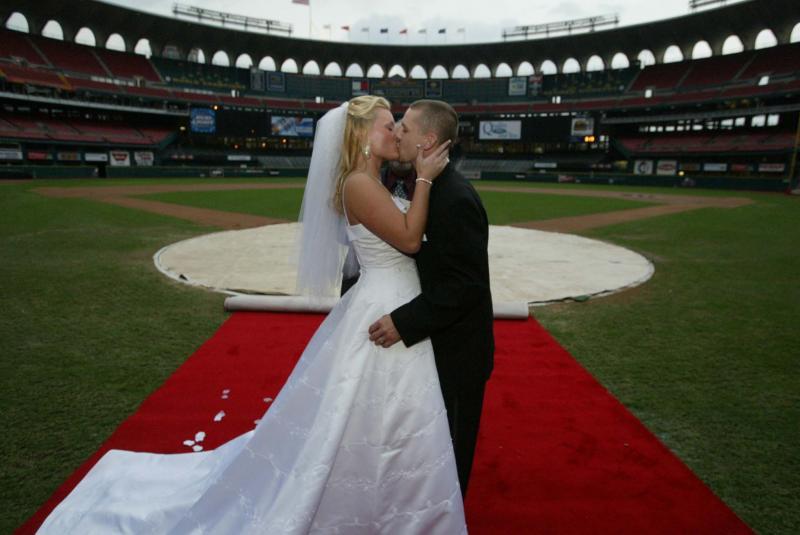 Необычные свадебные церемонии