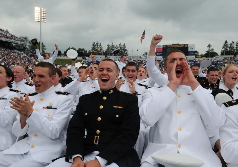 U.S. Naval Academy Graduation