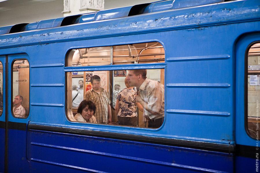 360 Партизанская: Поезд «Акварель»