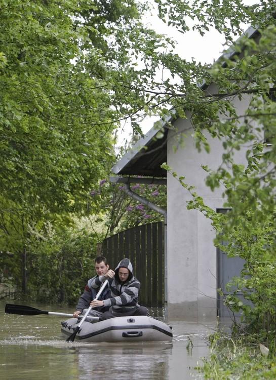 46211056 Наводнение в Европе