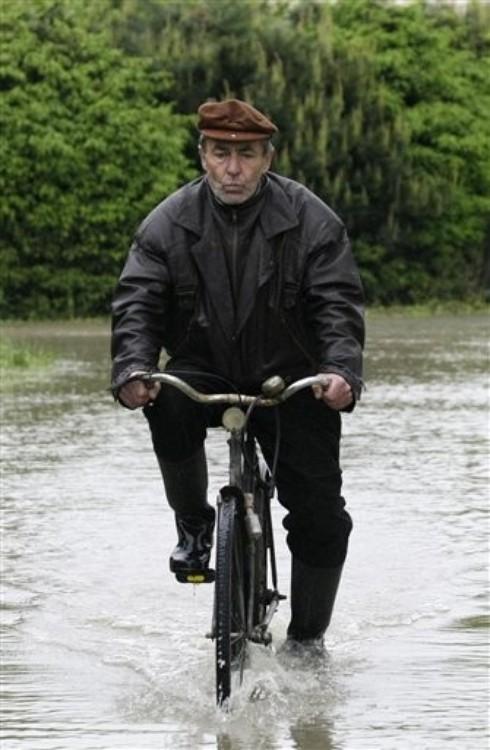 46211071 Наводнение в Европе