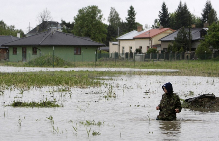 46217121 Наводнение в Европе