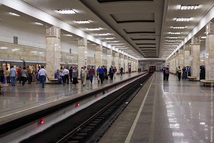 536 Партизанская: Поезд «Акварель»