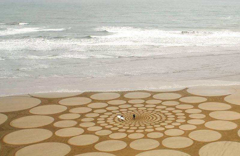 545 Узоры на песке