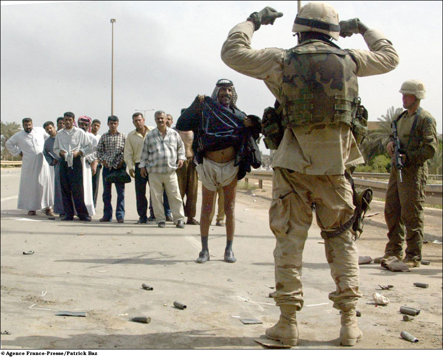 Knowing Where to Step, Gingerly, in Iraq