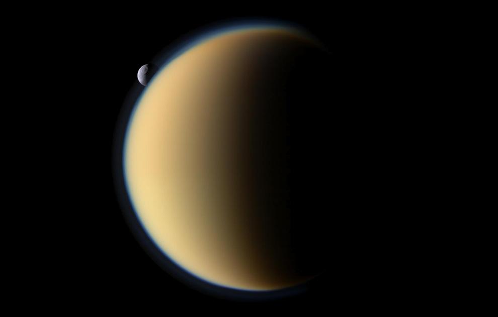 s01 pia1 Снимки Сатурна и его спутников
