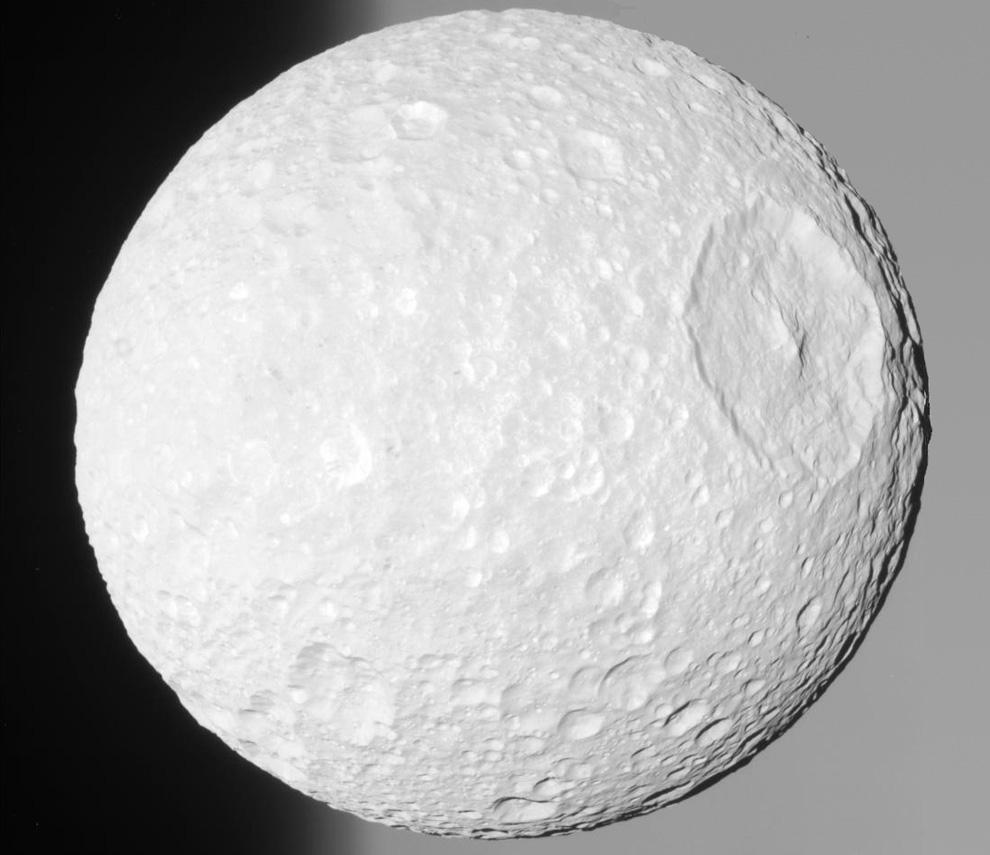 s03 0015 Снимки Сатурна и его спутников