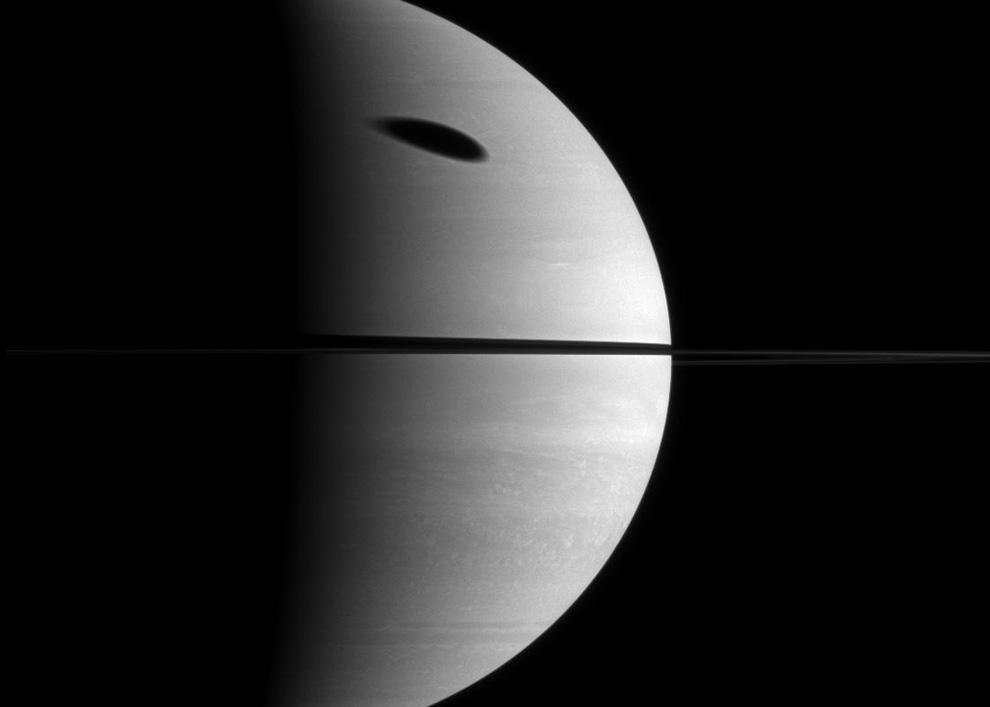 s22 pia1 Снимки Сатурна и его спутников