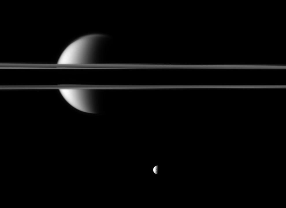 s24 3001 Снимки Сатурна и его спутников