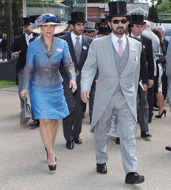 038 Парад шляп на скачках Royal Ascot (Часть 1)