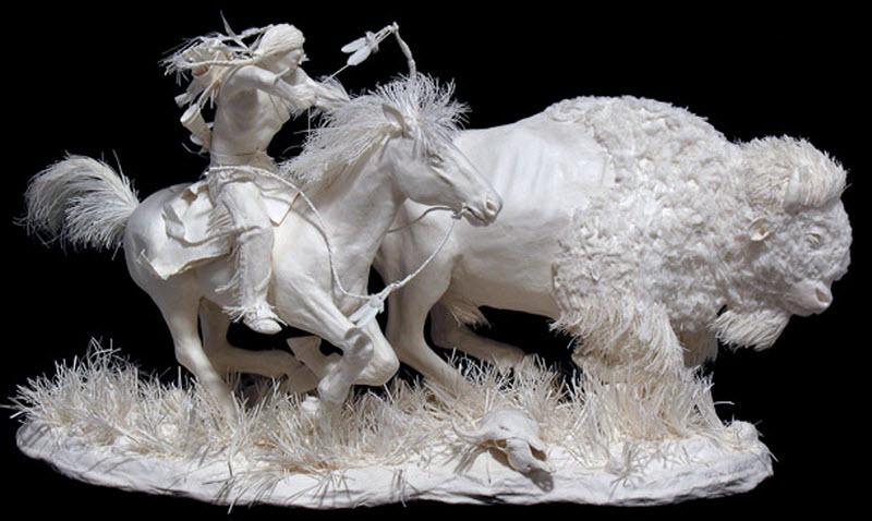 1088 Бумажные скульптуры