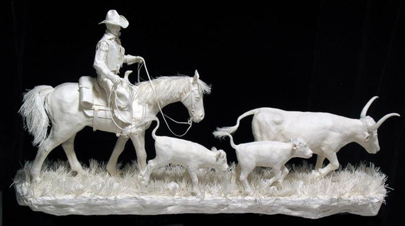 11119 Бумажные скульптуры