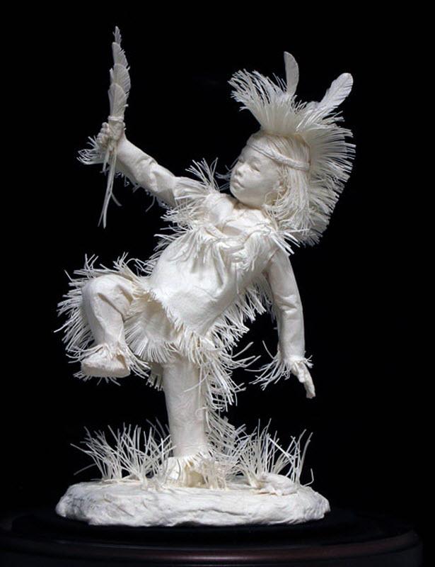 1286 Бумажные скульптуры