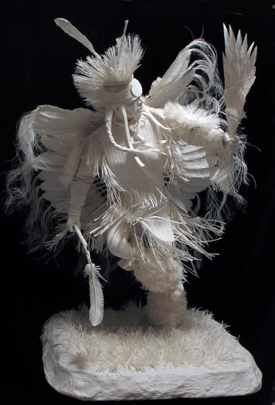 1287 Бумажные скульптуры