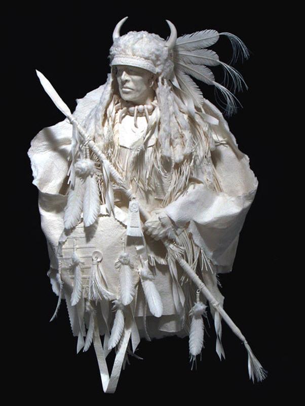 1373 Бумажные скульптуры