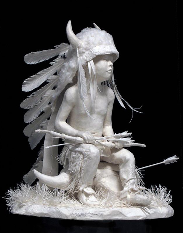 1468 Бумажные скульптуры