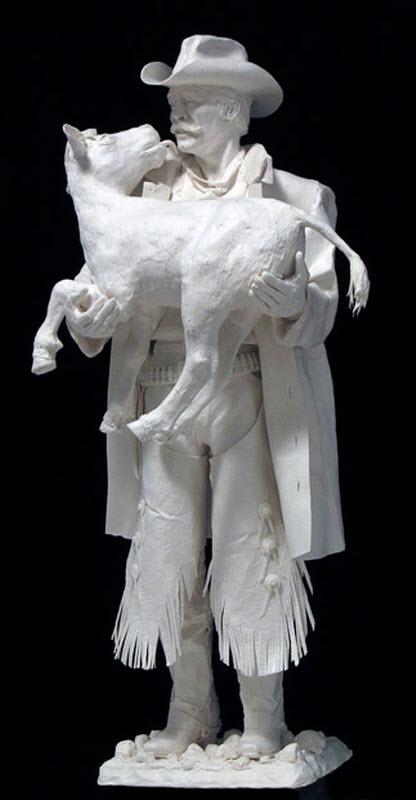 1654 Бумажные скульптуры