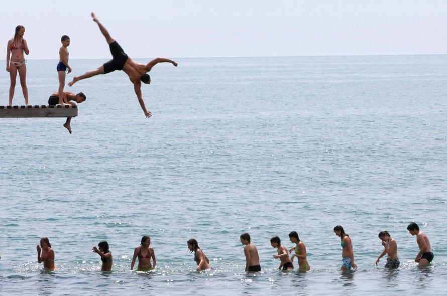 Фото подростки модели на пляже 73
