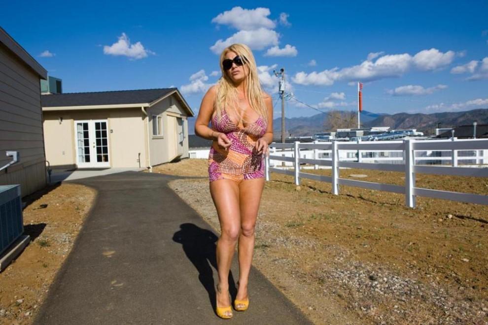 Girl selling virginity on bunny ranch