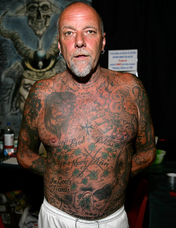 2152 Выставка тату в Англии
