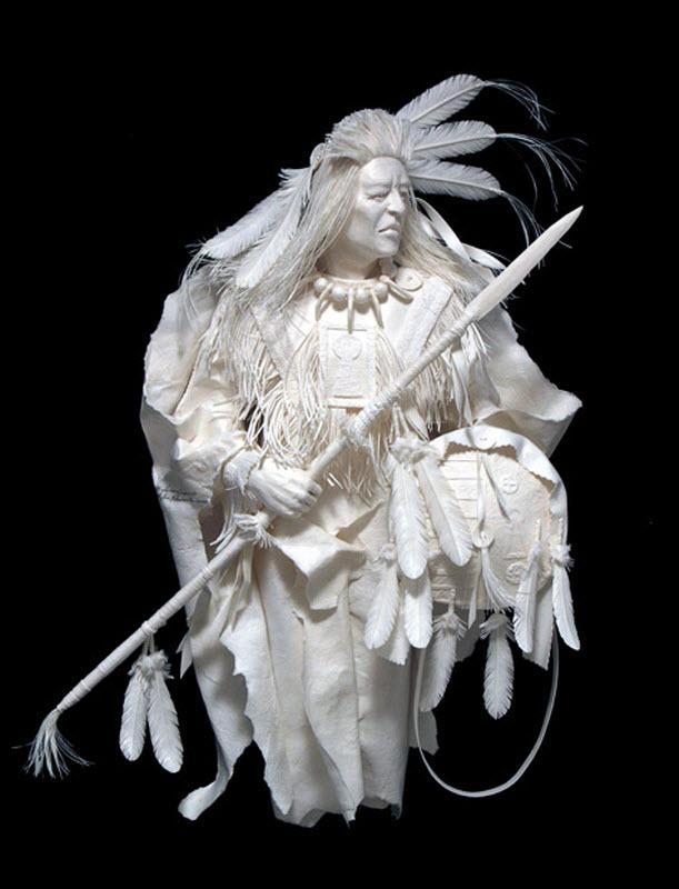 2181 Бумажные скульптуры