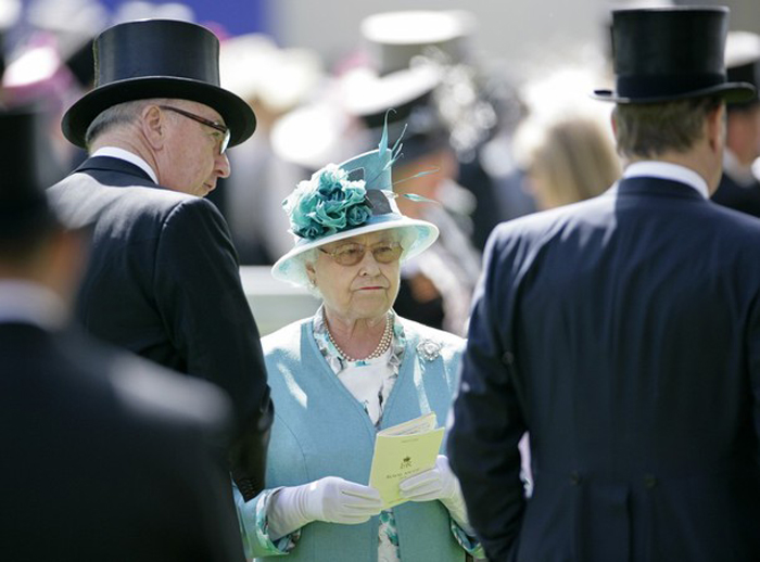 2318 Парад шляп на скачках Royal Ascot (Часть 1)