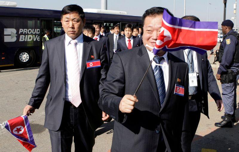 Северная Корея - за демилитаризованной зоной