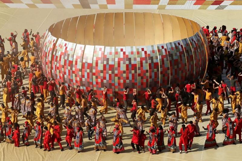 Церемония открытия Чемпионата мира по футболу вЮАР