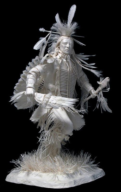 4117 Бумажные скульптуры