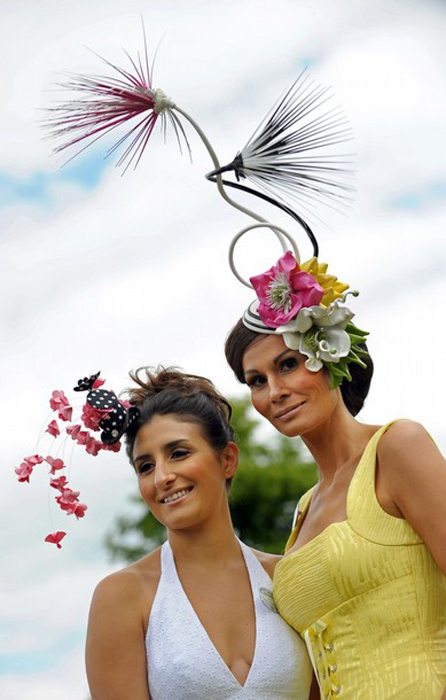 455 Парад шляп на скачках Royal Ascot (Часть 1)
