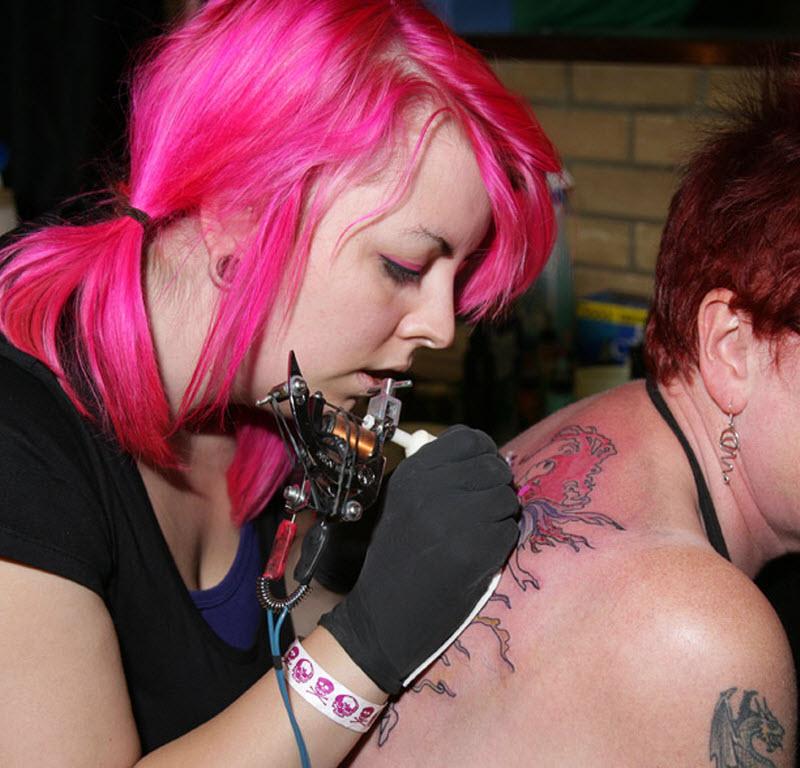 487 Выставка тату в Англии
