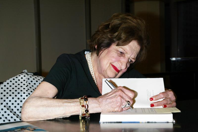 Ветеран американской журналистики Хелен Томас