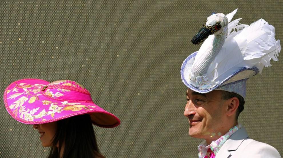640 990x554 Парад шляп на скачках Royal Ascot (Часть 2)