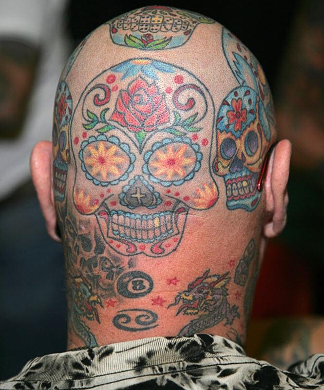 662 Выставка тату в Англии