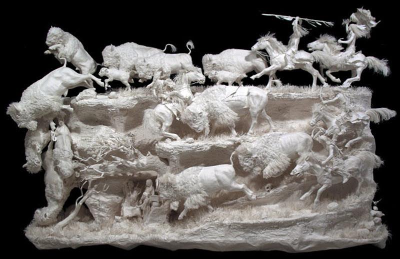 683 Бумажные скульптуры