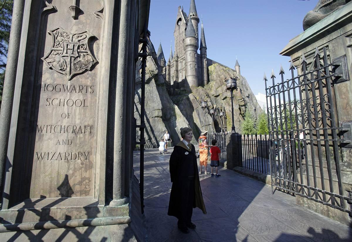 827 Волшебный мир Гарри Поттера