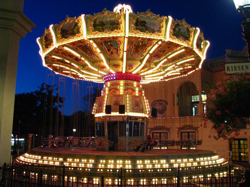 Венское колесо обозрения ночью? Нет!