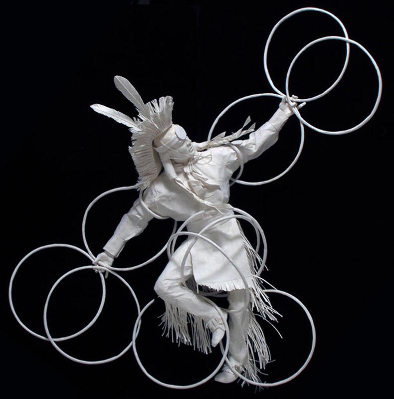977 Бумажные скульптуры